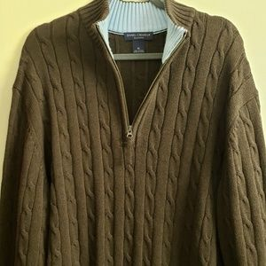 Daniel cremieux 1/4 zip sweater from classic colle